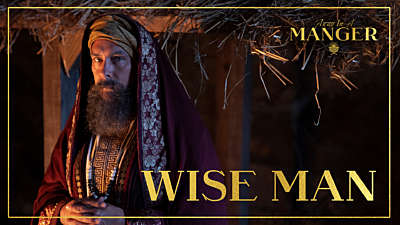 Away In A Manger: Wise Man