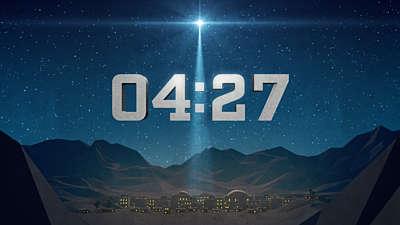 Bethlehem Night Countdown