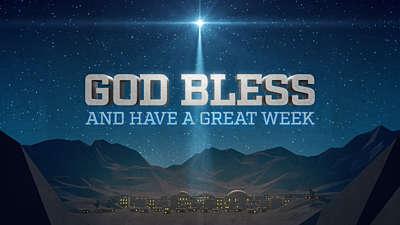 Bethlehem Night God Bless
