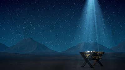 Bethlehem Night Manger