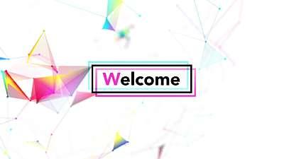 Bright Plex Welcome