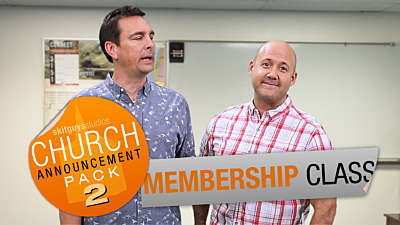 Church Announcement 2: Membership Class