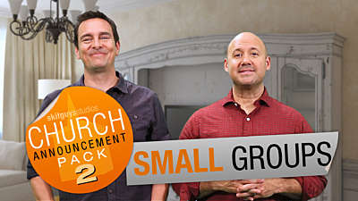 Church announcement 2: Small Groups