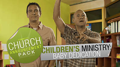 Church Announcement: Children Ministry Dedication
