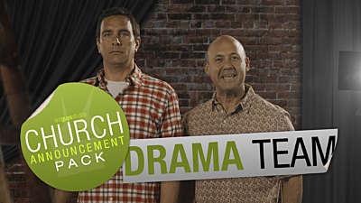 Church Announcement: Drama Team