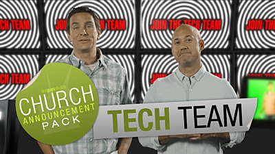 Church Announcement: Tech Team