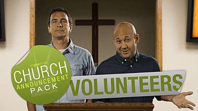 Church Announcement: Volunteers