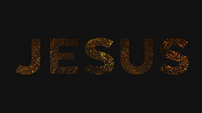 Christmas Gold Jesus
