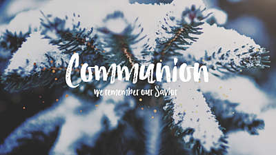 Christmas Textures Communion