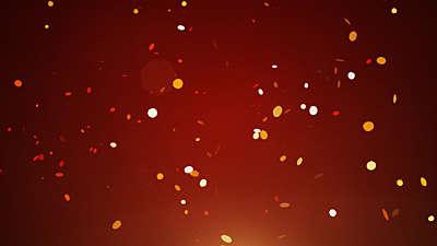 Confetti Orange