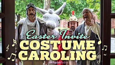 Easter Invite Caroling