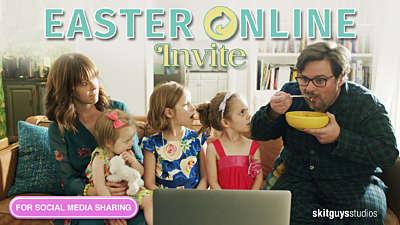Easter Online Invite