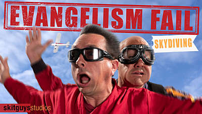 Evangelism Fail: Skydiving