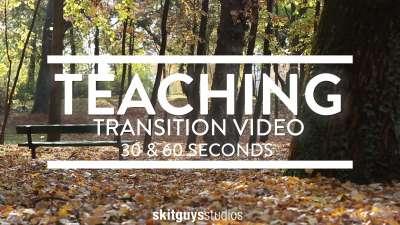 Fall Transition Pack 2: Teach