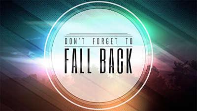 Fall Equinox Fall Back
