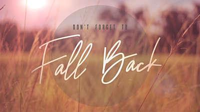 Fall Field Fall Back