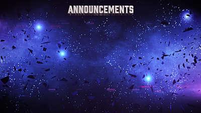 Galaxy Glass Announcements