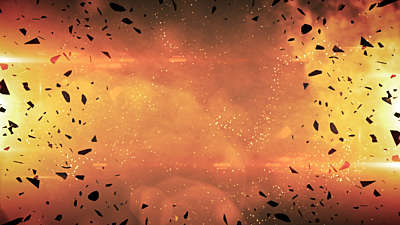 Galaxy Glass Fire