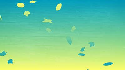 Gradient Leaves 04