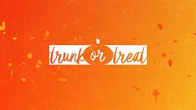 Gradient Leaves Trunk Or Treat