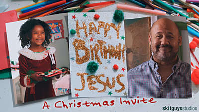 Happy Birthday Jesus: A Christmas Invite