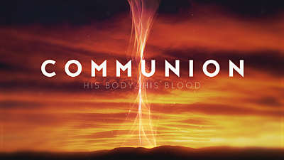 Holy Week Glow Communion