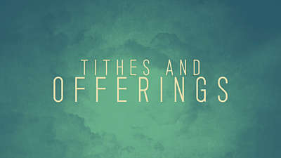 Independence Clouds Tithes Offerings