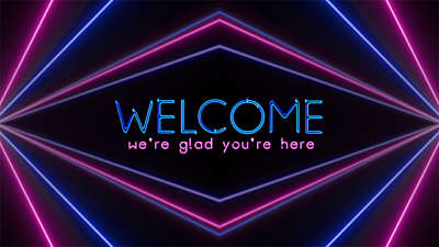 Laserlight Welcome