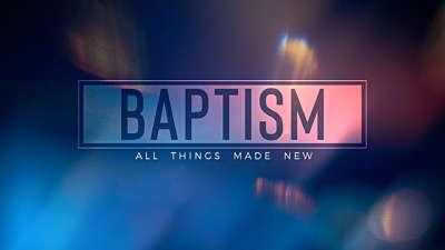 Light Flares Baptism