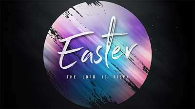 Mosaic Easter Title