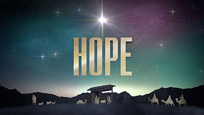 Nativity Christmas Hope