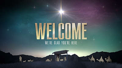 Nativity Christmas Welcome