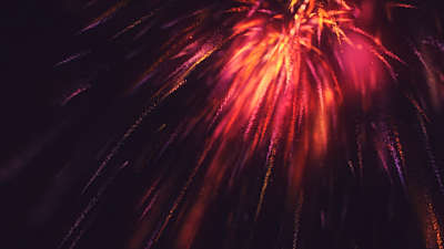 New Year Sparks End