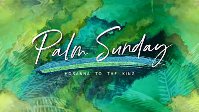 Palm Sunday Vol 3 Palm Sunday