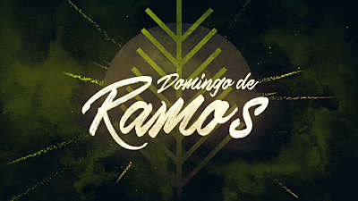 Particle Rays Palm Sunday Title (Spanish)