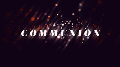 Particle Streaks Communion