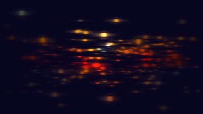 Particle Streaks Orange