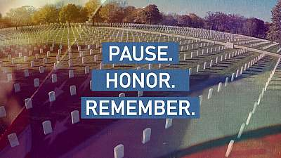 Pause. Honor. Remember.