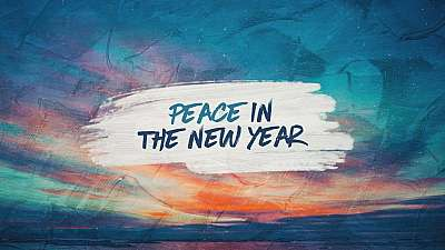Peace In The New Year