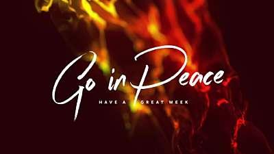 Pentecost Flames Exit