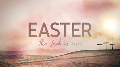 Resurrection Sunday Easter Title