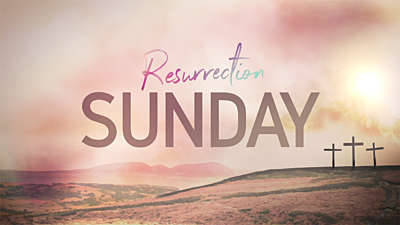 Resurrection Sunday Title