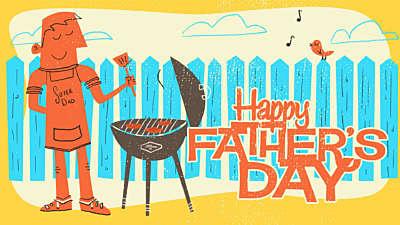 Retro Dad Happy Father's Day