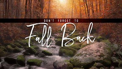 Rivers Fall Back
