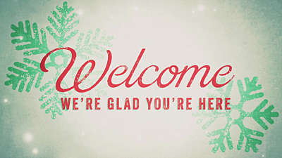 Snowlight Christmas Welcome