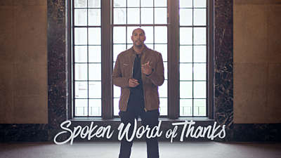Spoken Word Of Thanks