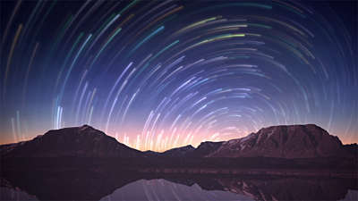 Star Trails 8