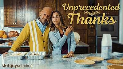 Unprecedented Thanks