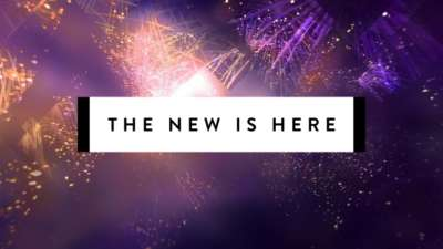 The New Is Here