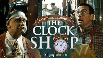 Fall Back Reminder: The Clock Shop